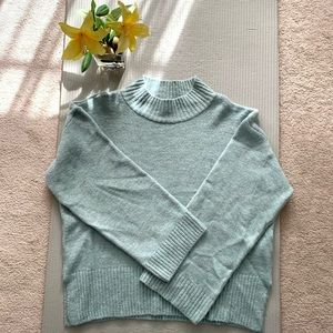 Topshop Mock Neck Sweater Size Large